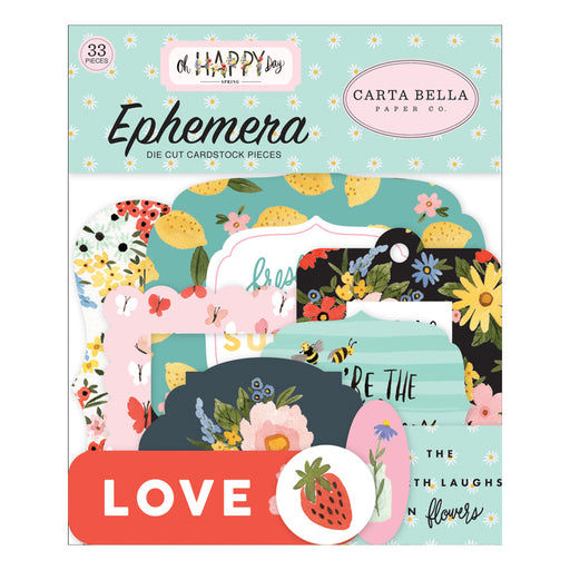 Carta Bella Oh Happy Day - Ephemera