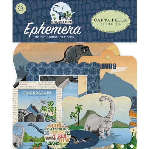 Carta Bella Dinosaurs - Ephemera