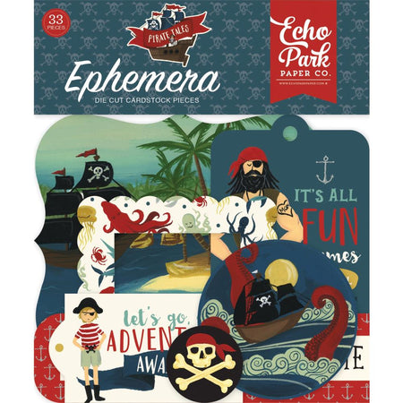 Echo Park Pirate Tales - Ephemera
