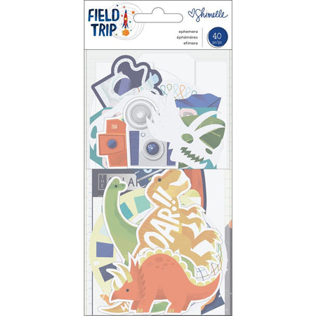 American Crafts Shimelle Field Trip - Ephemera Cardstock Shapes