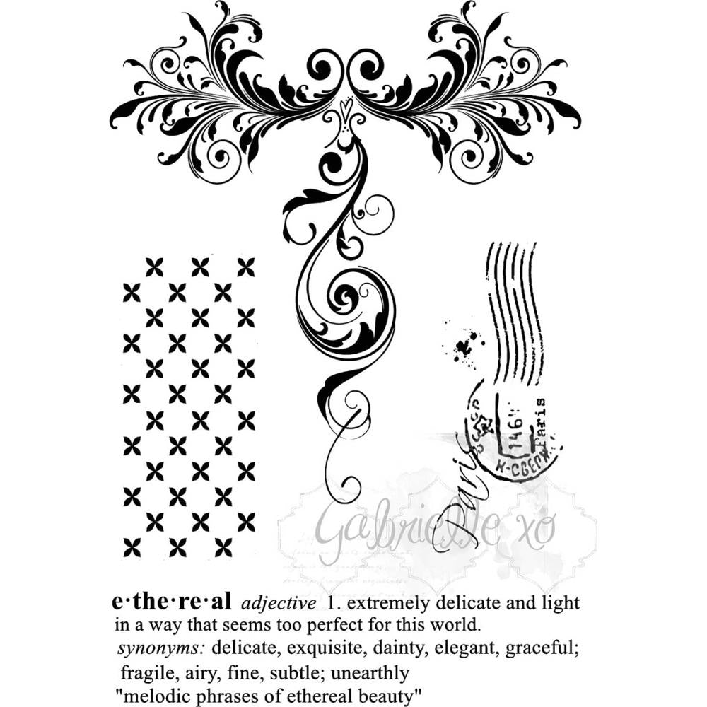 49 And Market Clear Stamps - Gabi's Etheral
