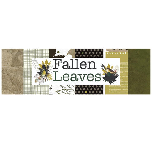 Kaisercraft Fallen Leaves - Bazzill Plain Matchmaker Pack