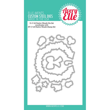 Avery Elle Elle-ments Die - Festive Wreath