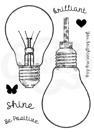 Woodware Clear Magic Singles Stamps - Fill Me Lightbulb