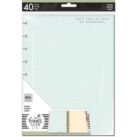Me & My Big Ideas Happy Planner - Medium Fill Paper Homebody Colored