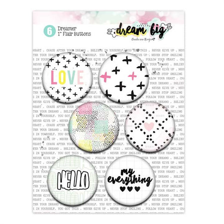 Pretty Little Studio Dream Big - Dreamer Flair Buttons