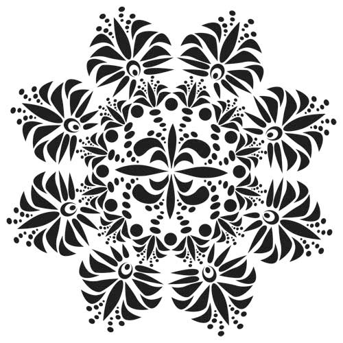 Crafter's Workshop 6x6 Template - Fleur de Lis