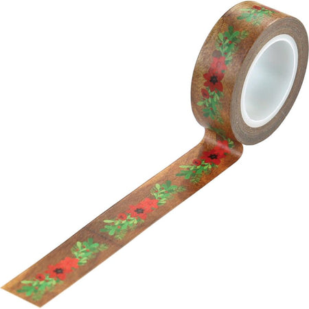 Echo Park A Cozy Christmas - Floral Swag Decorative Tape