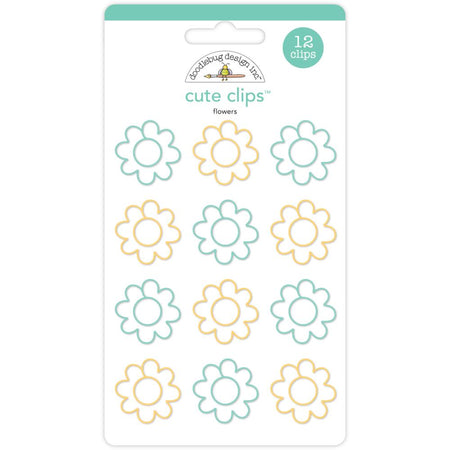 Doodlebug Design Cute Clips - Flowers