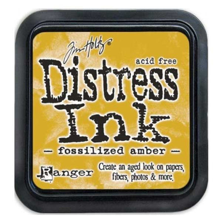 Tim Holtz Mini Distress Ink - Fossilized Amber