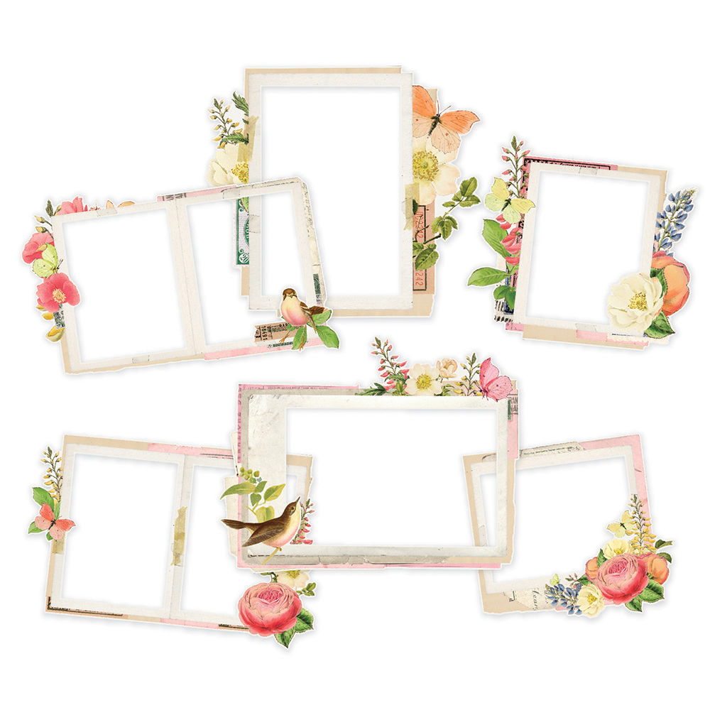 Simple Stories Simple Vintage Garden District - Layered Frames