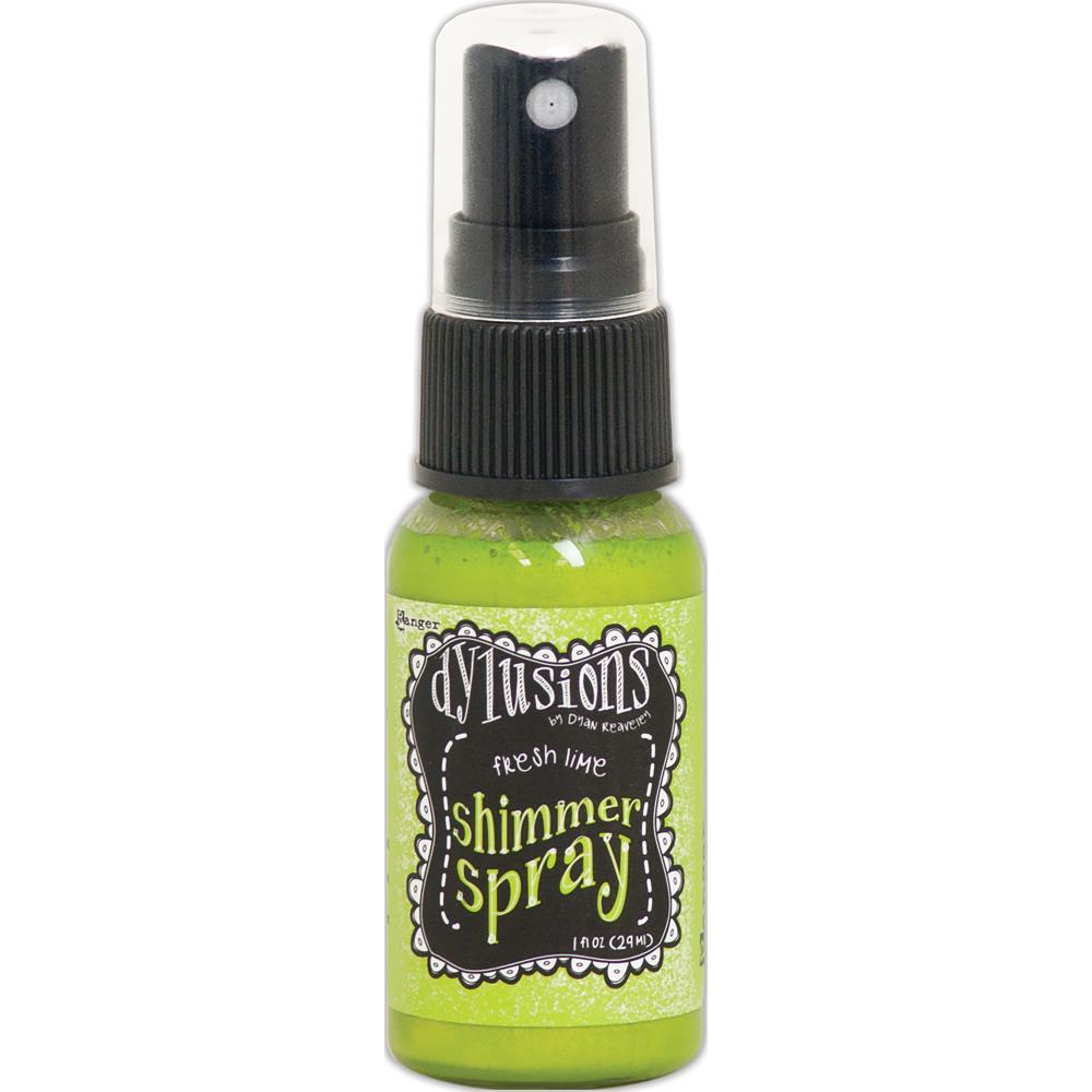 Ranger Dylusions Shimmer Spray - Fresh Lime