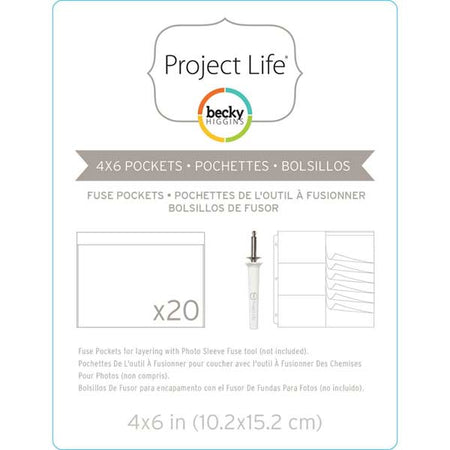 Project Life Fuse Pockets - 4x6