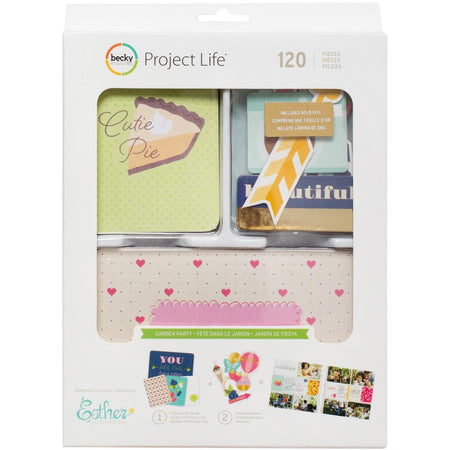 Project Life Value Kit - Garden Party (With Gold Foil)