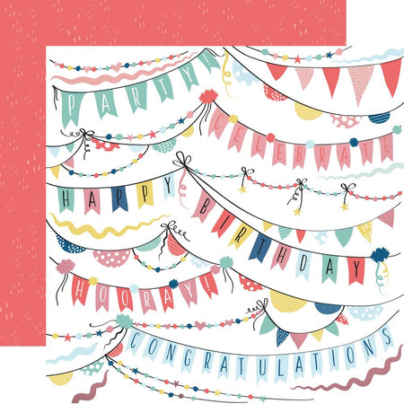 Kaisercraft Oh Happy Day - Garlands (foiled)