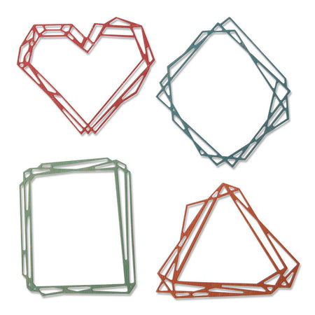 Sizzix Tim Holtz Alterations Thinlits Die - Geo Frames