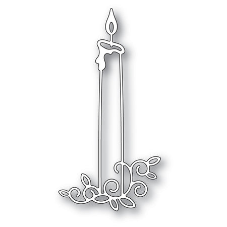 Memory Box Die - Gilded Taper Candle