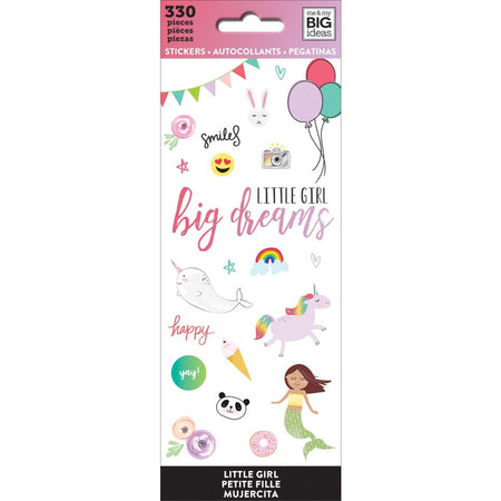 Me & My Big Ideas Stickers - Little Girl