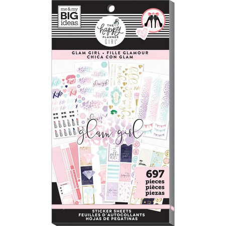 Me & My Big Ideas Happy Planner - Sticker Value Pack Glam Girl