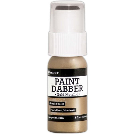 Acrylic Paint Dabber - Gold Metallic