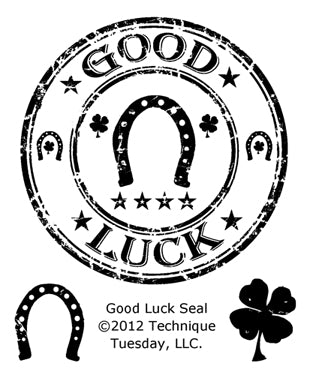 Technique Tuesday - Good Luck Seal
