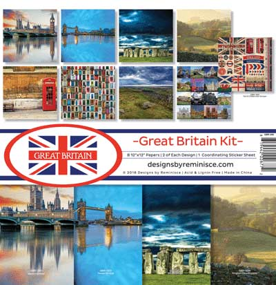 Reminisce Great Britain - Collection Kit