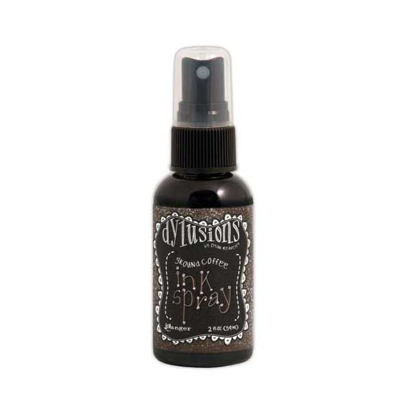 Ranger Dylusions Ink Spray - Ground Coffee