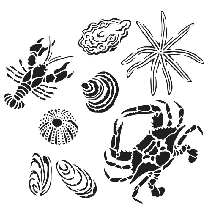 Crafter's Workshop 6x6 Template - Gulf Coast Creatures