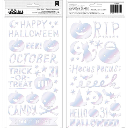 Crate Paper Hey Pumpkin - Hocus Pocus Phrase Thickers
