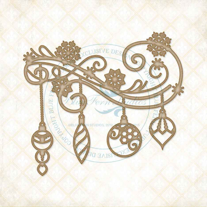 Blue Fern Studios Chipboard - Holidays Bright