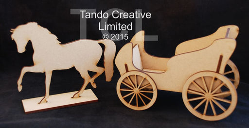 Tando Creative - Horse & Carriage