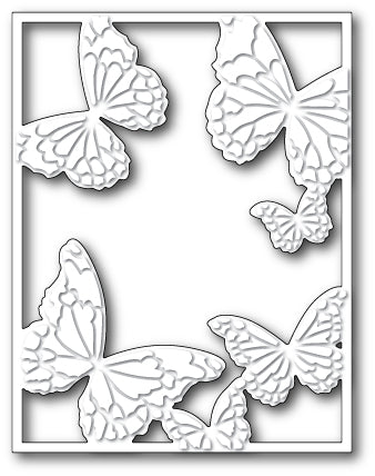 Memory Box Die - Hovering Butterfly Frame