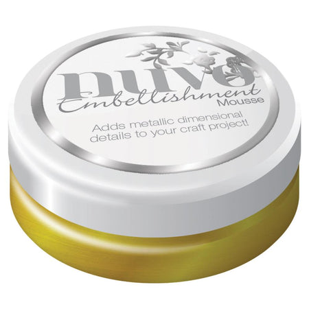 Tonic Studios Nuvo Embellishment Mousse - Indian Gold