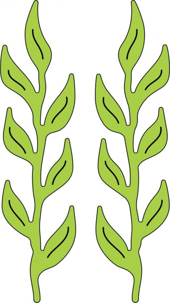 Cheery Lynn Designs - Iris Leaves