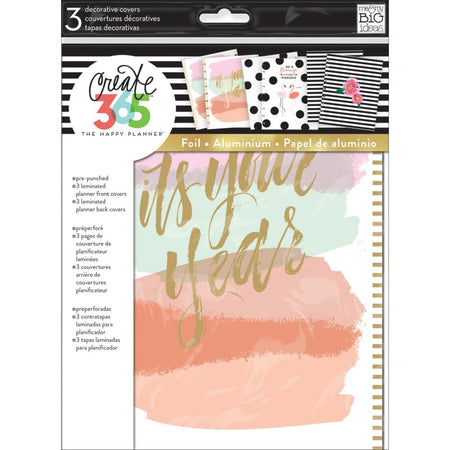 Me & My Big Ideas Happy Planner - 3 Decorative Covers It's Your Year