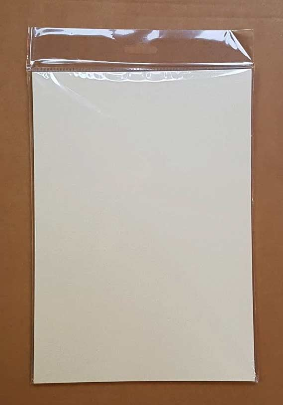 Craft UK A4 Ivory Pearl Card & Paper Pack