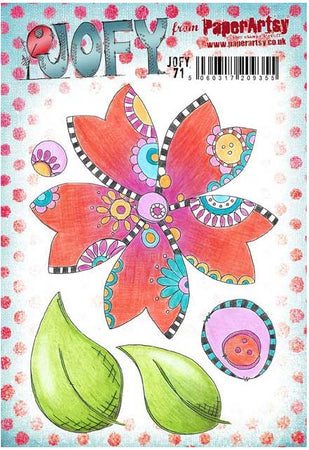 PaperArtsy Stamp Set - JOFY 71