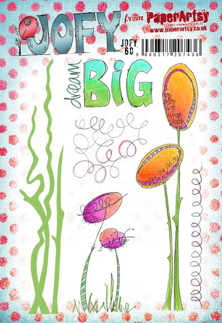 PaperArtsy Stamp Set - JOFY 60
