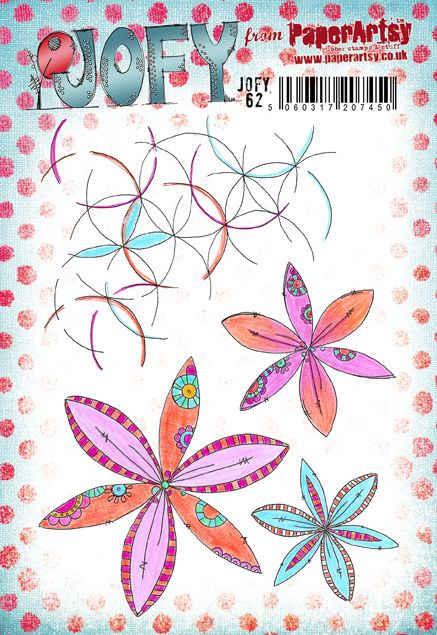 PaperArtsy Stamp Set - JOFY 62