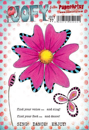PaperArtsy Stamp Set - JOFY 77