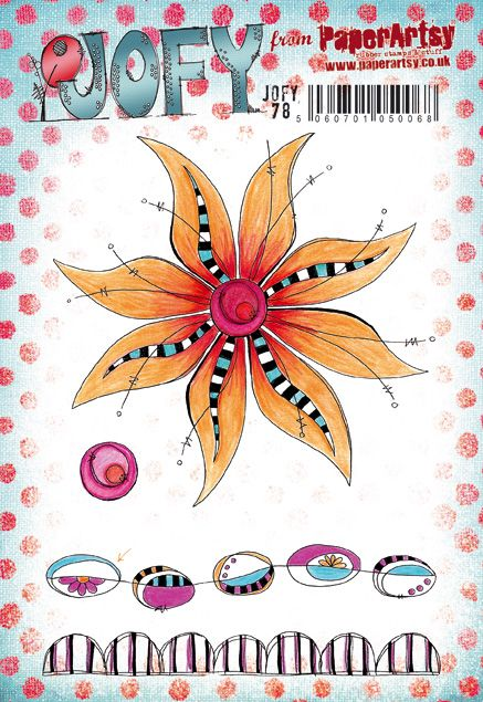 PaperArtsy Stamp Set - JOFY 78