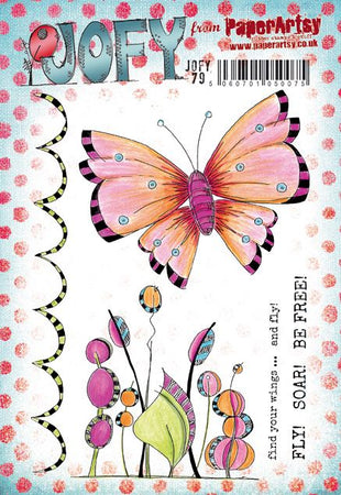 PaperArtsy Stamp Set - JOFY 79