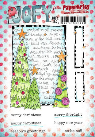 PaperArtsy Stamp Set - JOFY 84
