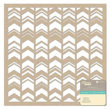 Jillibean Soup 12x12 Placemats - Kraft Chevrons
