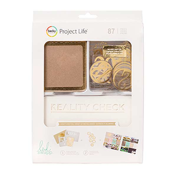 Project Life Album 12 x 12-Designer-Southern Weddings-Gold Foil