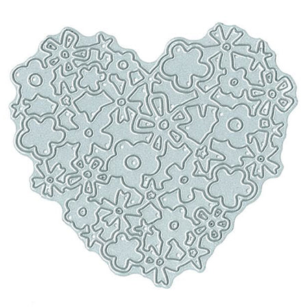 Technique Tuesday Die - Lacy Heart