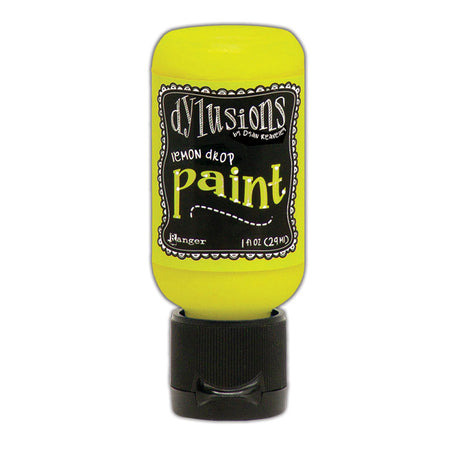 Dylusions 1oz Paint - Lemon Drop