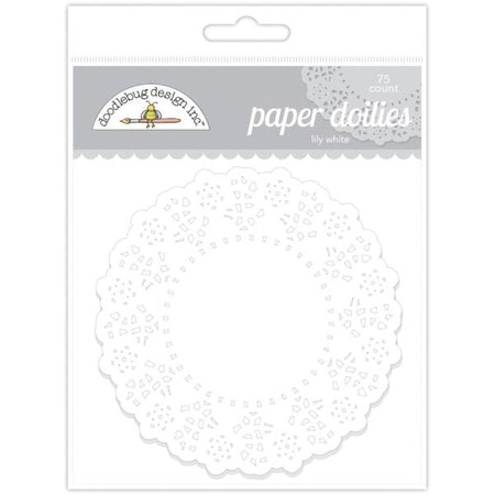Doodlebug Design Paper Doilies - Lily White