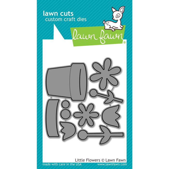 Lawn Fawn Craft Die - Little Flowers