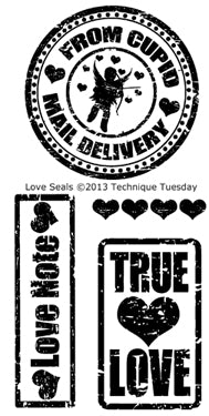 Technique Tuesday - Love Seal